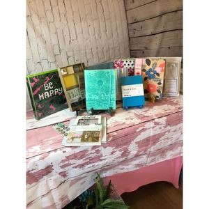 Lot Of Journaling, Scrapbooking, & Planning Items